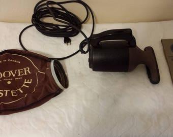 Vintage 1940's Hoover Dustette Vacuum