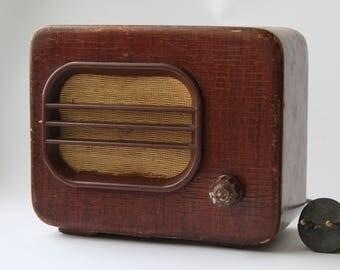 Soviet radio, Wooden radio, Vintage radio USSR, Radio speaker, Home decor, antique radio