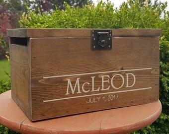 Card Box, Wedding Card Box, Rustic Wedding, Wedding Card Box, Rustic Wedding Decor, Wooden Card Box, Rustic Wedding, Locking Card Box