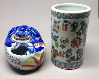 Chinese Demon Spirit Water Container for Calligraphy/Painting