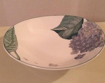 Attractive Blue Hydrangea Dish - Sango, The Larry Laslo Collection, Southampton