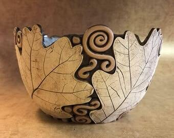 Large Oak Leaf Bowl 15