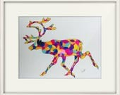 Mosaic Stag