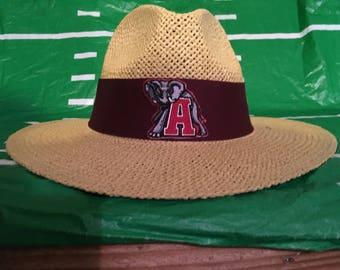 Alabama Crimson Tide straw hat