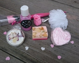 Bathing gift set 'Romantic of Roses'