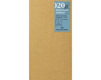 TN Accessory - Regular Size - 020 Kraft Paper Folder