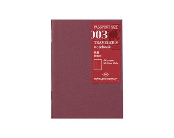 TN Refill - Passport Size - 003 Blank