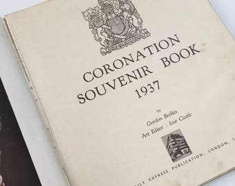 Amazing coronation souvenir book 1937