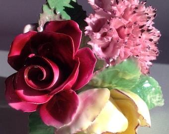 Royal Malvern bone china flowers