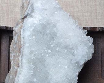 Raw Large Crystal Cluster/Clear Crystal cluster/Crystal Décor/Demagnetization/quartz cluster-160*135*56mm 1313g