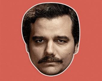 Serious Pablo Escobar Mask by RapMasks