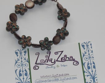 Rustik Flower Bracelet (Small)