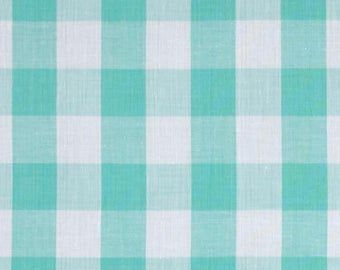8 Mint Green Gingham Tablecloths