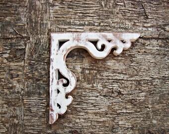 Victorian Wooden Corbel Shabby Chic Farmhouse Decor Wood Screen Door Brackets
