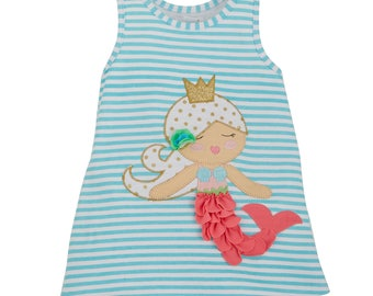 Mermaid Dress, Mermaid Party Kit