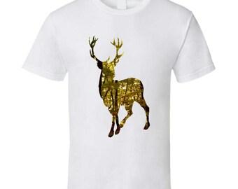 Deer Silhouette T Shirt