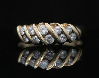 CLEARANCE 14k Yellow Gold 0.50ct Diamond Ring