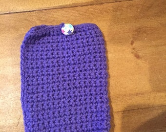 Crocheted Mobile phone cover