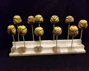 "Cake Pops ""Minions Inspired"" Order of 13!"