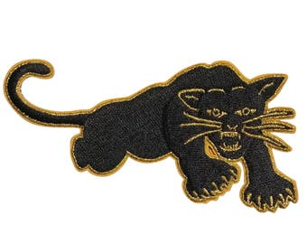 Black Panther Party - Embroidered Iron-On Patch
