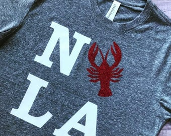 NOLA Crawfish Tee