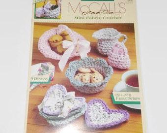 McCall's creates Fabric Craft Mini Fabric Crochet Item 14088