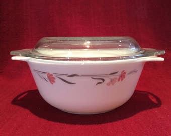 Pyrex Silverleaf Casserole Dish 800ml 1986