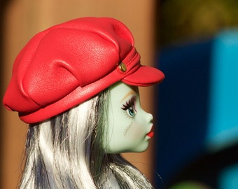 Monster High clothes - Monster High hat , Doll Cap, doll clothes, Barbie clothes