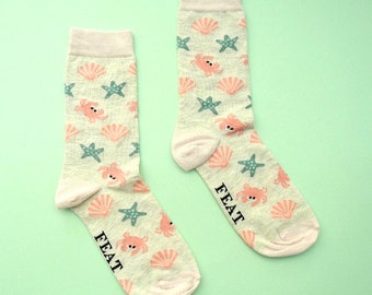 Ladies' Seashell sock