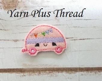 Camper Feltie Embroidery Design