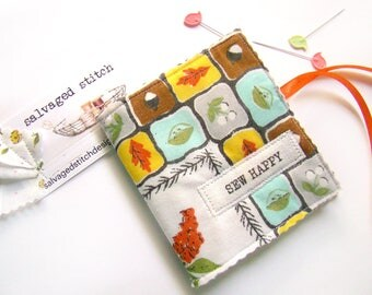 Needle Case, Needle Book, Sewing Supply, Embroidery Accessory, Sewing Gift, Sewing Kit, Needle Storage, Sewing Notions, Embroidery Case