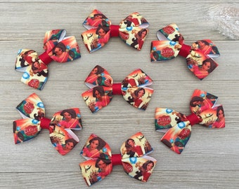 Elena of Avalor Hair Bows party favors, Elena of Avalor Party Favors, Elena of Avalor Birthday Party