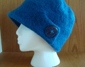 Adele Felted Hat - Knitted and Felted Pattern
