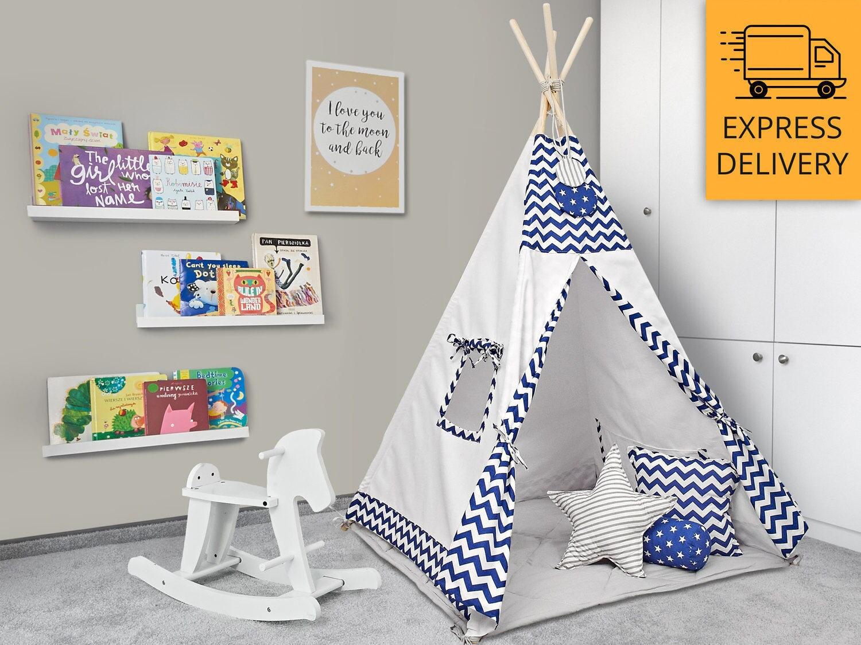 tipi set kids play tente tipi nuit toil e. Black Bedroom Furniture Sets. Home Design Ideas