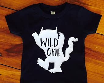 "Where the wild things are ""Wild One"" tshirt"