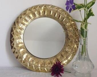 Mirror brass