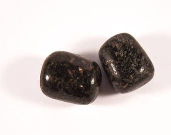 High quality Nuummite.  All stones hand picked!