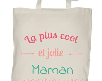 Tote bag to customize MOM mother's day