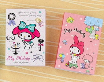 My Melody sticky notes book post it notes cute kawaii rabbit bunny