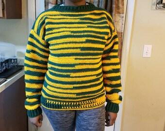 Handmade crochet sweater