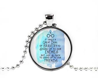 Harry Quote Necklace Harry Fan Always Pendant Fandom Jewelry Fangirl Fanboy Cosplay