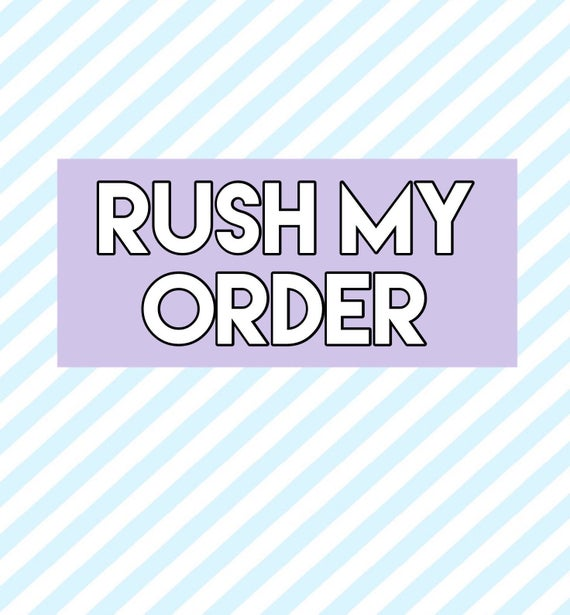 make a personal order for