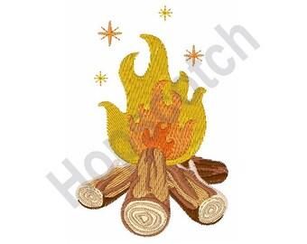Campfire Wood - Machine Embroidery Design