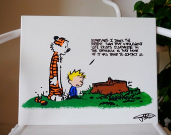 Calvin and Hobbes (Aliens)