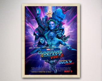 Guardians of the Galaxy Vol. 2 IMAX Marvel 2017 movie poster