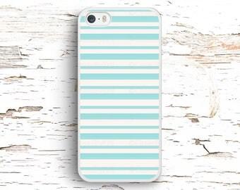 Simple Pastel Blue Lines, iPhone 7 6S 6 SE 5S 5 5C 4S, Samsung Galaxy S6 Edge S5 S4 S3, LG G4 G3, Sony Xperia Z5 Z3, HTC One M8