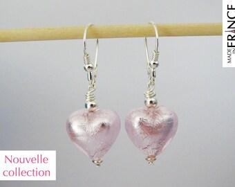 Cupid pink earrings