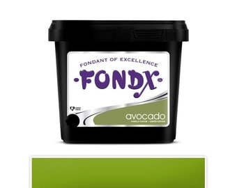 Avocado Green Fondx Fondant 1lb