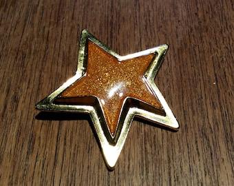 Vintage brooch star ESCADA / Vintage star Broch ESCADA