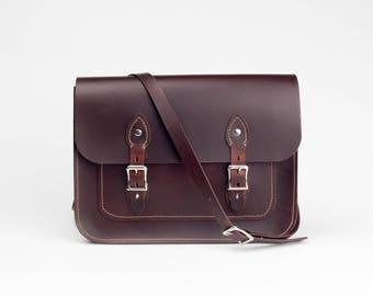 Leather Satchel Handbags, Leather Crossbody/Shoulder Bag